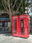 Gibraltar - angielskie budki telefoniczne