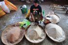 Sprzedawczyni ryżu