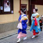 Kioto - geiko i maiko