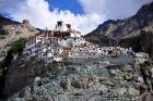 Indie, Diskit, klasztor tybetański