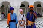 Indie, Pendżab, Amritsar, Sikhowie