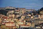 Lizbona przed zachodem słońca