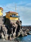 Ponta do Sol - kawiarnia na skale
