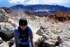 Hiszpania, Teneryfa, Ania w kraterze Teide 3718m npm
