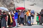 Indie, Spituk, Ania w oczekiwaniu na Dalajlamę