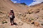 Indie, Ladakh, Ania na treku