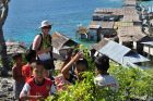 2014, Sulawesi, Togiany, wioska Bajo - morscy cyganie