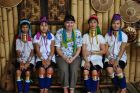 2013, Birma, Ania i kobiety 'długie szyje'