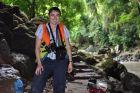 2009, Laos, Eksploracja jaskini Konglor.