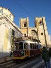 Lizbona - Katedra Se i tramwaj 28