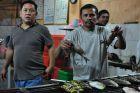 Makassar, w rybnej restauracji