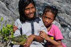 Dzieci z ptaszkiem