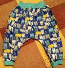 Spodnie alladynki dla 1,5-latka